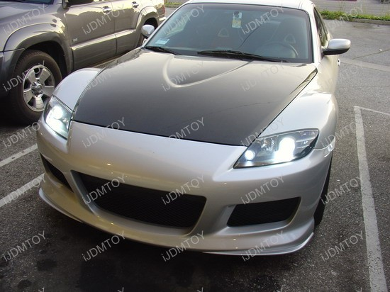 Mazda - RX - 8 - HID - LED - light - bulbs - 13